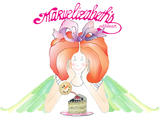 This is an image of the maryelizabeth's edibleart fairy that introduces the web site.